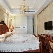 美式风格高贵卧室