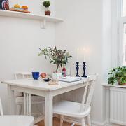 小户型白色家居餐厅