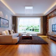 家居现代客厅展示