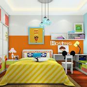 温馨橙色卧室图片