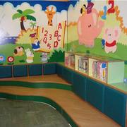 幼儿园教室彩绘展示