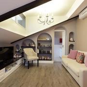 复式楼阁楼小客厅装饰
