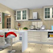 厨房小型便民吧台设计