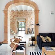房屋客厅木质沙发椅