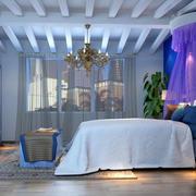 卧室新颖个性化吊顶