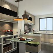 复式楼厨房吧台设计