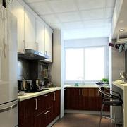 小厨房吧台展示欣赏
