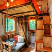 三室两厅木屋公寓图
