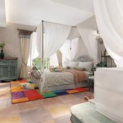 清新恬淡的卧室装潢