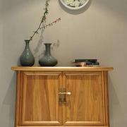 家居置物柜装饰