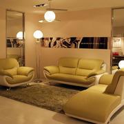 优雅娴雅的客厅沙发