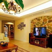 彩砖电视墙设计展示