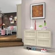 公寓米白色时尚鞋柜