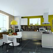 厨房吧台展示图