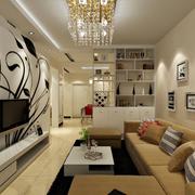 客厅置物架设计欣赏
