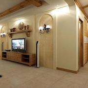 客厅组合电视柜图片