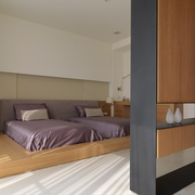 卧室个性隔断装饰