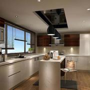 现代简约型的厨房