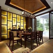 中式风格的大餐厅