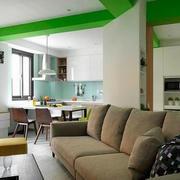 小公寓彩色吊顶图