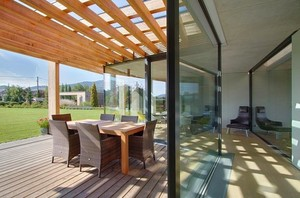 融入自然的150平米小复式楼阳光房装修效果图