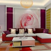 婚房客厅沙发展示