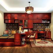 中式风格书房榻榻米装饰