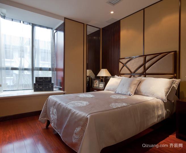 温暖宜人的新中式风格卧室装修设计图片大全
