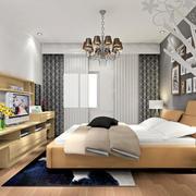 卧室电视柜装饰