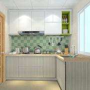 L字型厨房橱柜展示