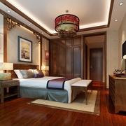中式卧室吊顶展示