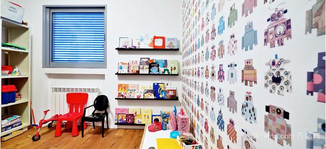 现代纯真儿童房装修效果图