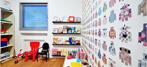 儿童房壁纸贴图
