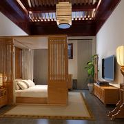 儒雅气质的卧室图