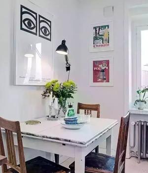 小户型餐厅装饰画欣赏