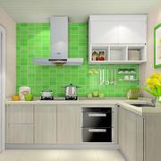 厨房绿色墙面欣赏