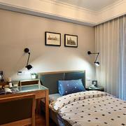 公寓小卧室灯饰布置设计
