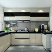 复式楼精致完美的厨房