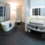 简约现代化的浴室