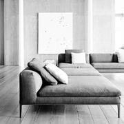 三室两厅公寓客厅简约大沙发