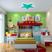 卧室绿色活力装饰欣赏