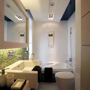 现代简约风格的卫生间