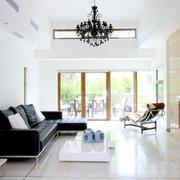 简洁干净的中式客厅