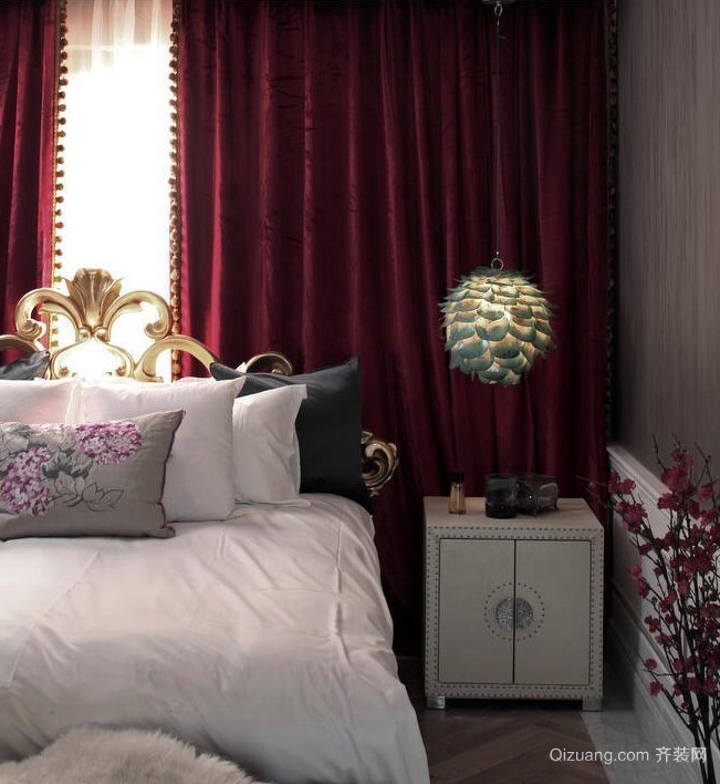 温馨惬意的混搭风格卧室装修设计图片大全