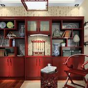 书房精致的书架展示