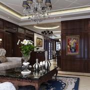 家居中式风格的客厅