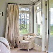 优雅温柔的卧室窗帘