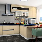 开放式小厨房展示