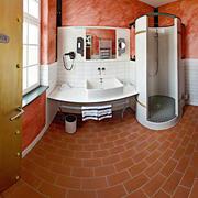 舒适现代化的浴室
