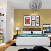 卧室床头装饰画展示